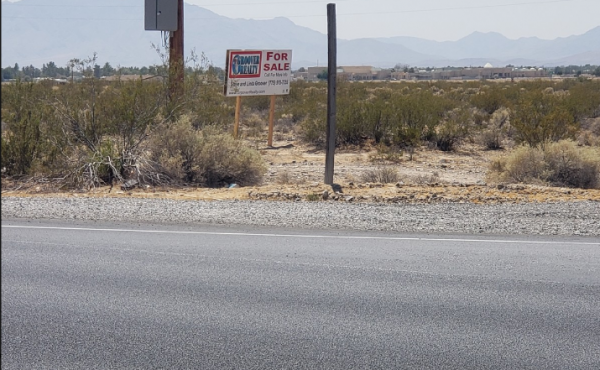 Commercial Land in Pahrump, Nevada